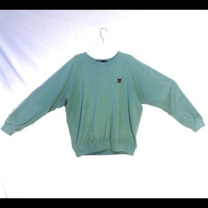 Vintage Polo Ralph Lauren Sweater Teal Mint Green